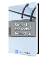 Scheduling and Mobile Technology eBook cover