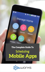 Complete Guide to Scheduling Mobile Apps cover