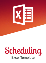 Free Excel Employee Scheduling Template cover