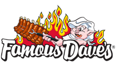 famous daves business management logo
