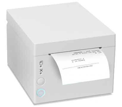 Plum Thermal Receipt Printer (White)